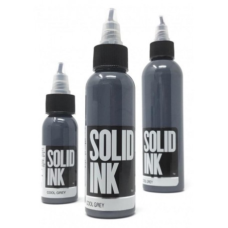 Cool Gray - Solid Ink 1oz