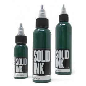 Dark Green - Solid Ink 1oz