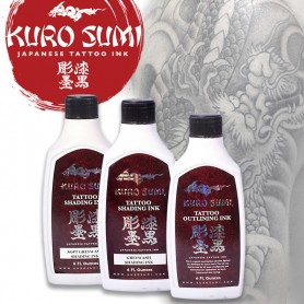 Kuro Sumi Japanese SET Gray Wash 180ml