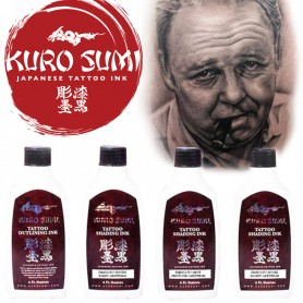Kuro Sumi Zhang Po Greywash Shading Set 4 x 180ml