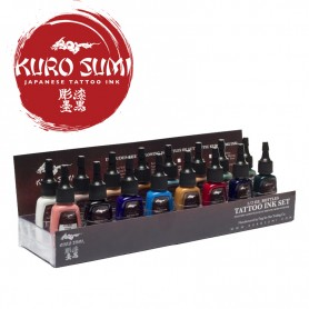 Kuro Sumi Primary Kit 2 – 16 Color Set – 1oz (30ml)