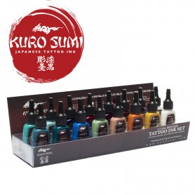 Kuro Sumi Primary Kit 3 – 16 Color Set – 1oz (30ml)