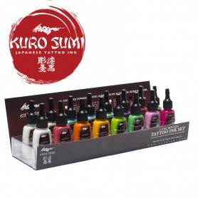 Kuro Sumi Primary Kit 4 – 16 Color Set – 1oz (30ml)