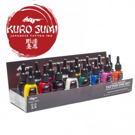 Kuro Sumi Primary Kit 1 – 16 Color Set – 1oz (30ml)
