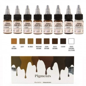 Perma Blend - Tina Davies Eyebrow Kit 8 x 15ml