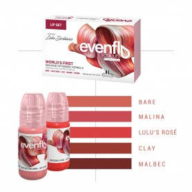 Perma Blend - Set Completo per labbra - Evenflo Lip Set da 5 x (15ml)