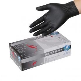 Unigloves SELECT BLACK Lattice 100 pezzi L (8-9)