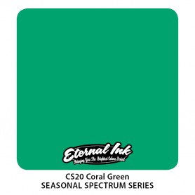 Eternal Ink 30ml - Coral Green - Exp12/07/22
