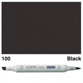 100 Copic Ciao Black
