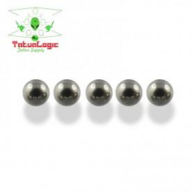 5 cuscinetti a sfera acciaio inox