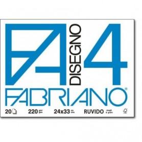Album Fabriano 4 ruvido 20 fogli 24x33cn