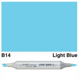 B14 Copic Sketch Light Blue