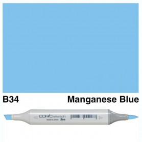 B34 Copic Sketch Manganese