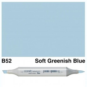 B52 Copic Sketch Soft Greenish Blue