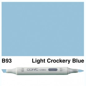 B93 Copic Ciao Light Crockery Blue