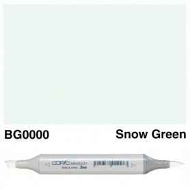 BG0000 Copic Sketch Snow Green