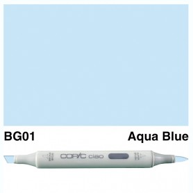 BG01 Copic Ciao Aqua Blue