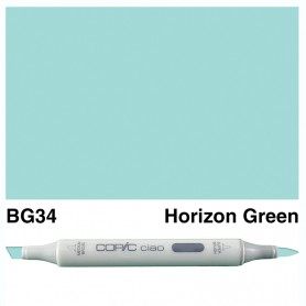 BG34 Copic Ciao Horizon Green