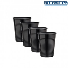 Bicchieri Euronda 100pz - Nero