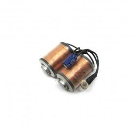 Bobine 12 wraps con condensatore 63V 47 uF Shader