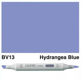 BV13 Copic Ciao Hydrangea Blue