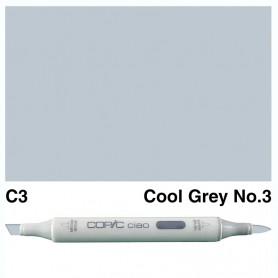 C-3 Copic Ciao Cool Gray No.3