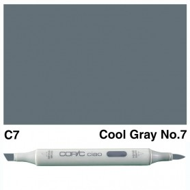 C-7 Copic Ciao Cool Gray No.7