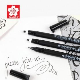 Calligraphy Pen Set 3pz SAKURA