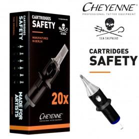 Cartridge Cheyenne Power Liner 09 - Long Taper 0,40mm 20pcs