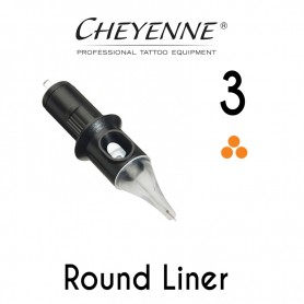 Cartridge Cheyenne Round Liner 03 - 0,30mm 10pcs