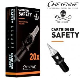 Cartridge Cheyenne Round Liner 03 - Long Taper 0,30mm 20pcs
