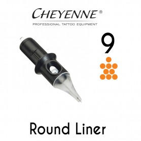 Cartridge Cheyenne Round Liner 09 - Medium Taper 0,30mm 10pcs