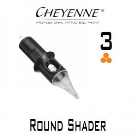 Cartridge Cheyenne Round Shader 03 - 0,25mm Long Taper 10pcs