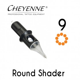 Cartridge Cheyenne Round Shader 09 - 0,30mm Long Taper 10pcs
