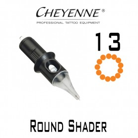 Cartridge Cheyenne Round Shader 13 - 0,30mm Long Taper 10pcs