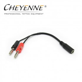 Cavo Adattatore Cheyenne Hawk Banana Plug 4mm (Headphone Jack 3.5mm)