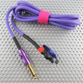 ClipCord In Silicone 1.8M Jack 6.35 Purple