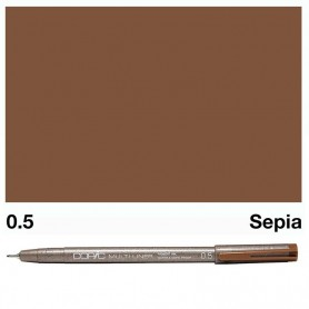 Copic Multiliner Sepia 0.5