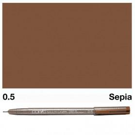 Copic Multiliner Sepia 0.5