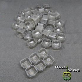 Cups Modulari Portapigmento 100pz Gray