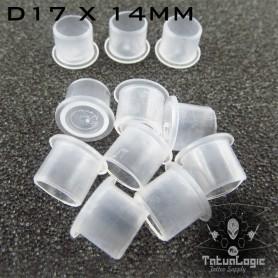 Cups Porta pigmento D17X14MM 1000Pcs Trasparenti