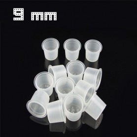 Cups Porta pigmento S (9MM) 1000PCS