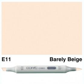 E11 Copic Ciao Bareley Beige