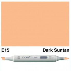 E15 Copic Ciao Dark Suntan