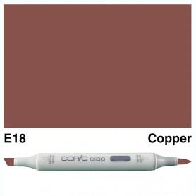 E18 Copic Ciao Copper