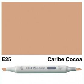 E25 Copic Ciao Caribe Cocoa
