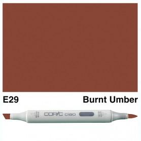 E29 Copic Ciao Burnt Umber