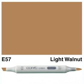 E57 Copic Ciao Ligth Walnut