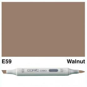 E59 Copic Ciao Walnut