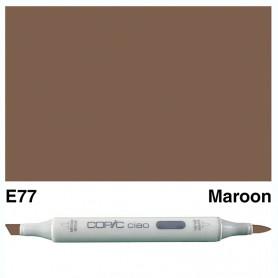 E77 Copic Ciao Maroon